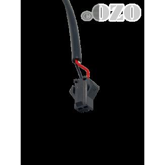 CF1 - Connecteur sonde de vitesse ou coupure frein
