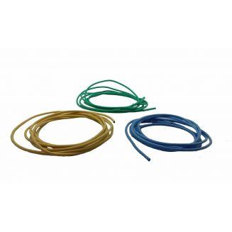 Cable moteur 2,5mm2 : jaune/rouge/noir/vert/bleu