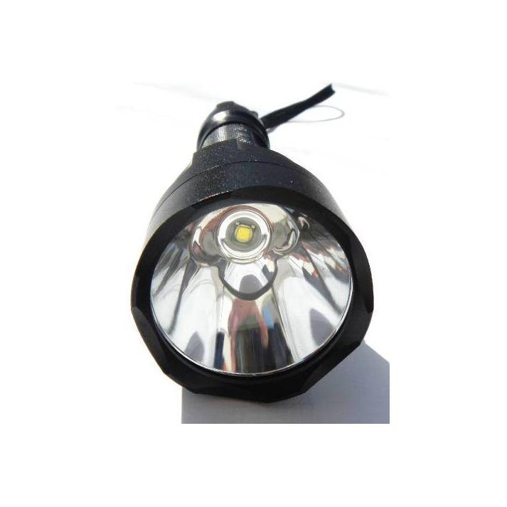 Lampe torche à Led 1000 Lumens avec batterie Lithium