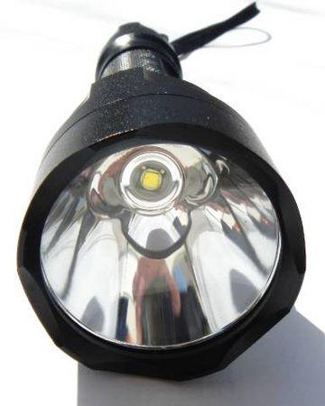 lampe torche face avant