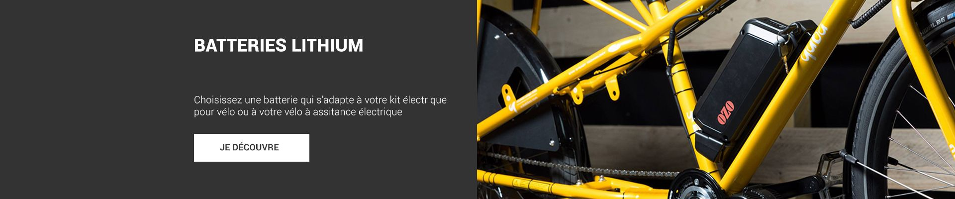 Batterie lithium Ozo Electric